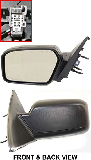 New Set of 2 LH /& RH Side Non-Heated Power Mirror Fits Ford Fusion Mercury Milan