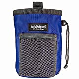 barkOutfitters Dog Treat Pouch - Bag Can Carry Snacks Toys - Professional Quality Pouch Ava (Blue)
