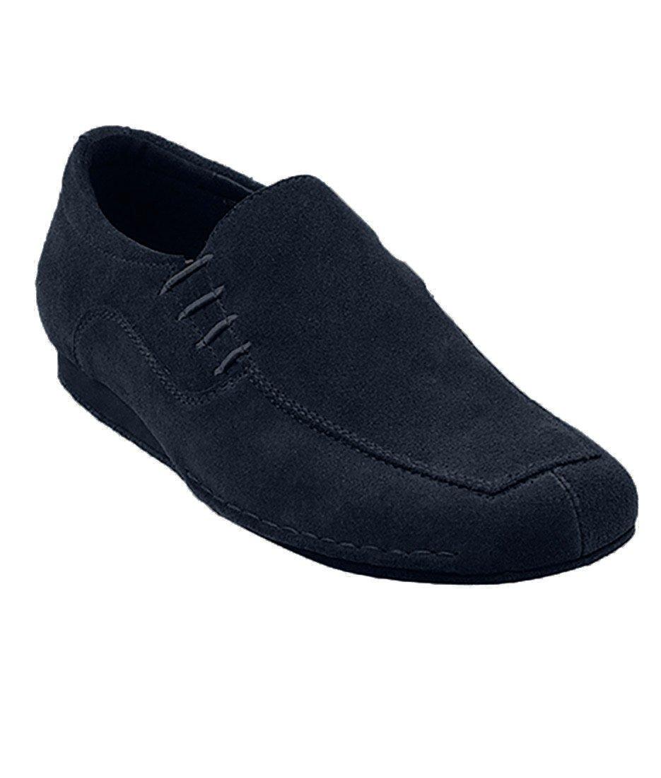 Very Fine Ballroom Latin Tango Salsa Dance Shoes for Men SERO102BBX Suede - Flate Heel - Blue Suede - 10