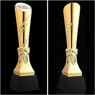 SryWj Récolte des Grains Cristal Trophée en Résine Doré à l'or Fin Créatif en Métal sur Mesure Création De Lettres