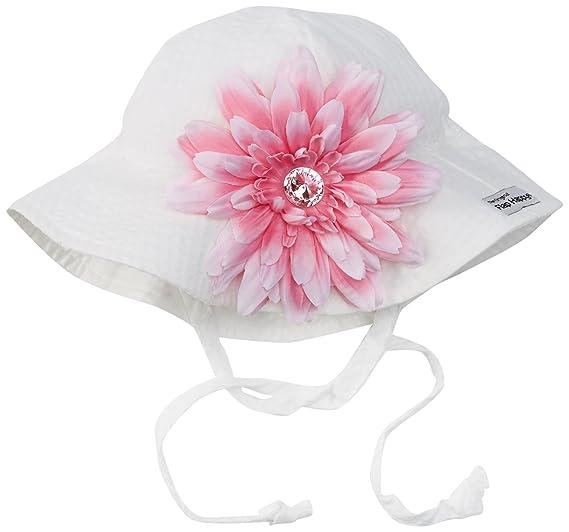 UPF 50+ Floppy Hat w Pink Flower  751a9f7bcb8e
