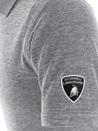 Automobili Lamborghini Mens Oxford Polo Shirt Xxl Blue