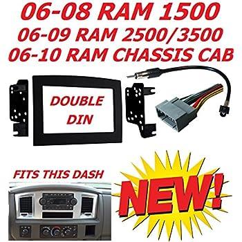 2006 2010 dodge ram double din car radio. Black Bedroom Furniture Sets. Home Design Ideas