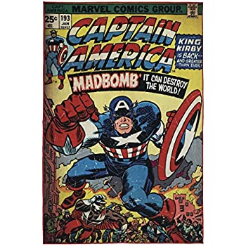 Amazon Com Ab 4 6x6 6 Kids Blue Red White Captain America
