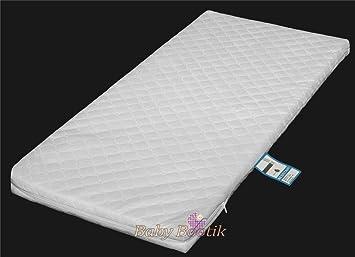Crib//Cradle Mattress 90 x 40 x 3.5cm Standard or Quilted Option Standard