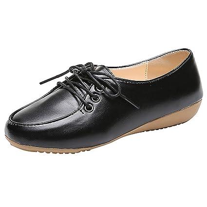 Tacones de mujer Clarks zapatos negros cordones ¡Compara 7