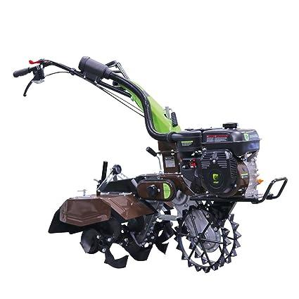 Groway 92650X - Motocultor y removedor avicola, 212 cc, 7 HP, incluye juego