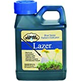 Liquid Harvest Lazer Blue Concentrated Spray Pattern Indicator 8 Ounces Perfect Weed Spray Dye, Herbicide Dye, Fertilizer Mar