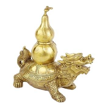Muzuri Collection Feng Shui Dragon Tortue Porte La Calebasses