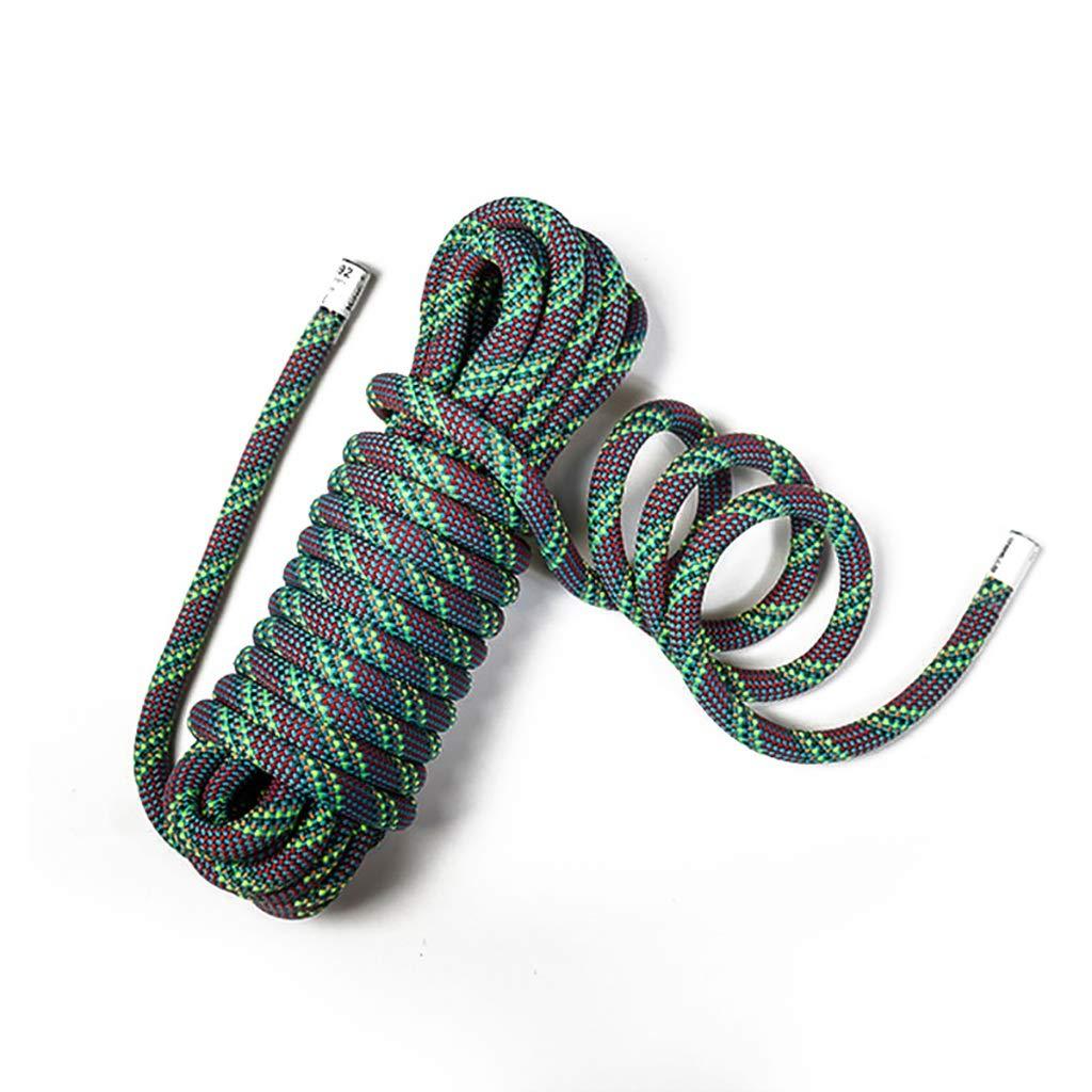 C YYHSND Corde Corde d'escalade Corde électrique Sauvetage Sauvetage Corde Travail aérien Corde Descente en Rappel Corde Corde d'alpinisme (Couleur   A, Taille   10m) 10m
