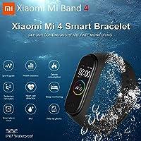 BDSONG Xiaomi Mi Band 4 Bluetooth 5.0 Pulsera de Fitness ...