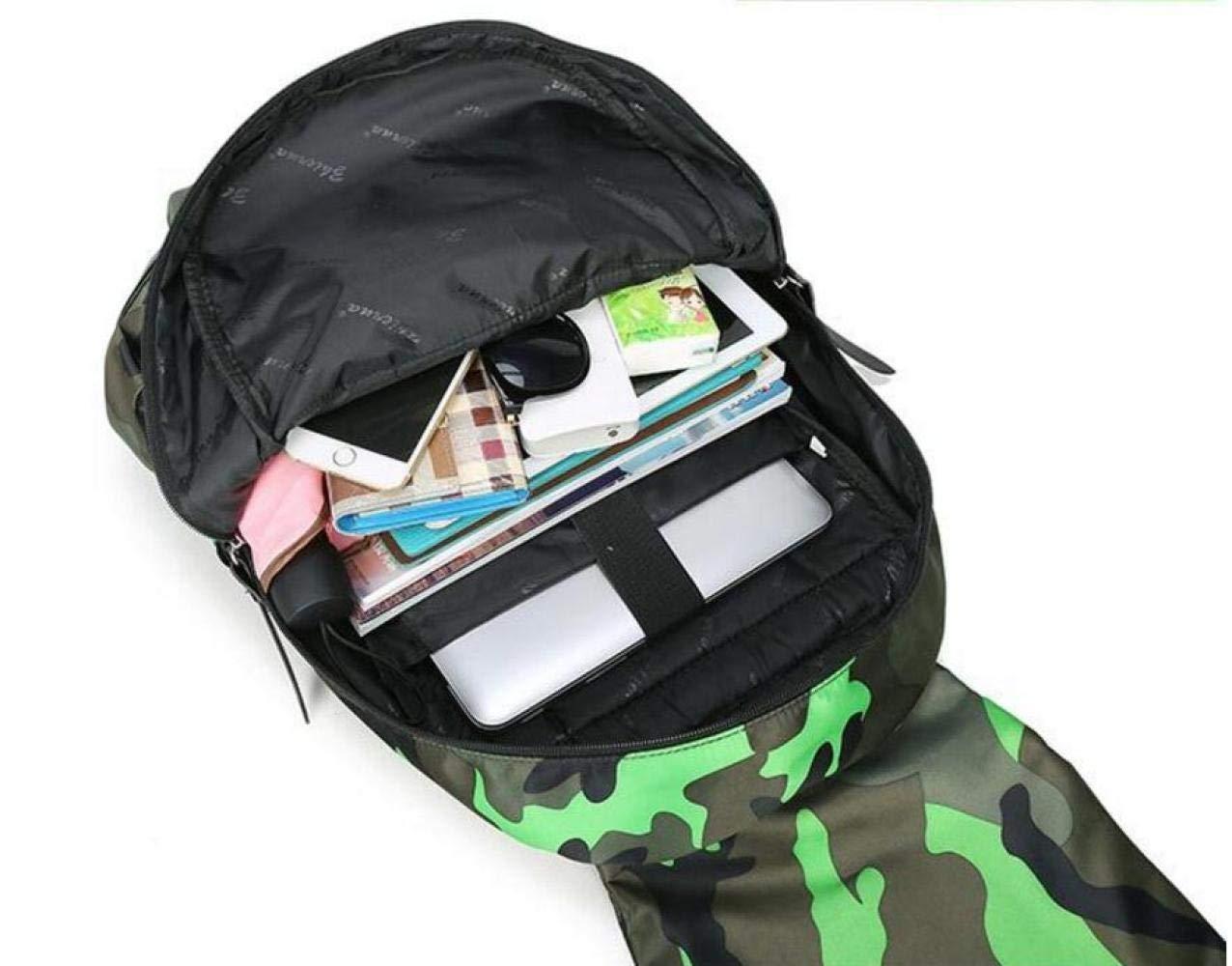Camouflage Damen Rucksack Studententasche Männer Reisetasche,Blau B07NPC4YJC B07NPC4YJC B07NPC4YJC Daypacks Tadellos 7ccade