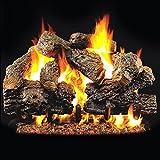 Peterson Gas Logs 24-inch Charred Royal English Oak Logs Only No Burner