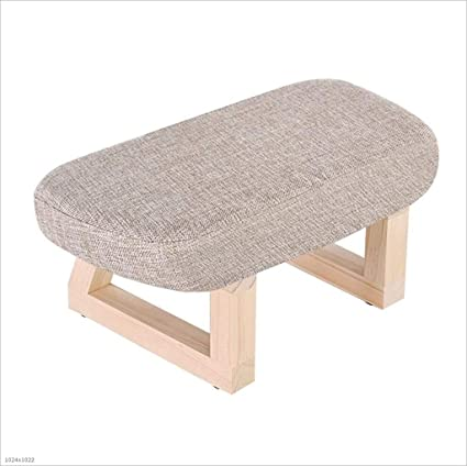 Incredible Amazon Com Aymmy Solid Wood Stool Padded Small Bench Gmtry Best Dining Table And Chair Ideas Images Gmtryco