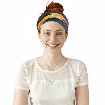 Headwear Ballerina Sweatband Elastic Turban Sport Headband Outdoor Head Wrap