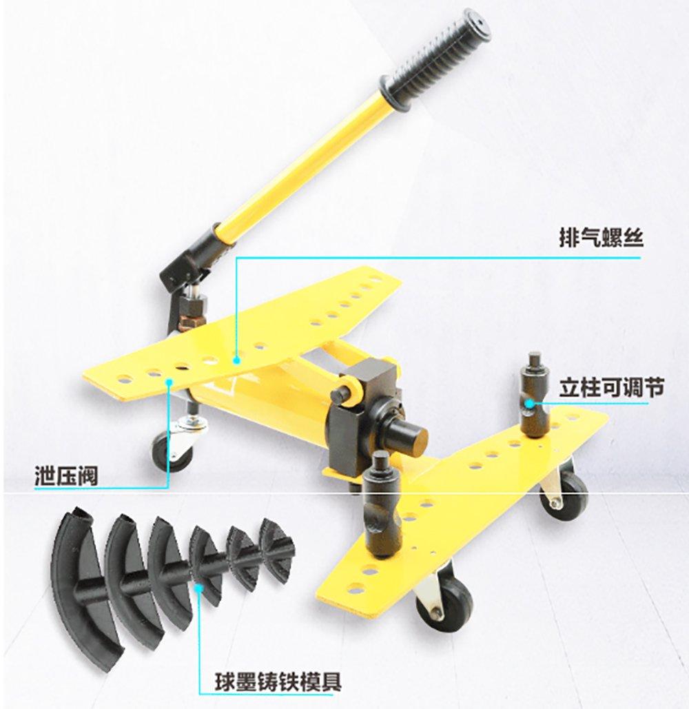 MXBAOHENG油圧式 パイプベンダー 手動 SWG パイプ曲げ機 チューブベンダー パイプ加工 ステンレス鋼管 亜鉛 鉄パイプに適用 (SWG-2) B07DRD4QM2 SWG-2
