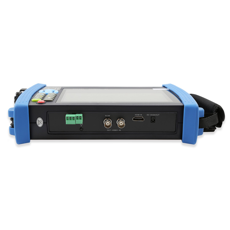 Wsdcam 7 Inch 1080p Retina Display Ip Camera Tester Cctv Analog With Poe Discovery Rapid Onvif Wifi 8g Tf Card 4k H265 Hdmi