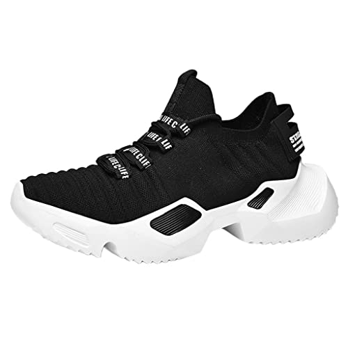 10c0163d06adc Amazon.com | Mosunx Athletic Men's Mesh Lace Up Breathable Sneakers ...