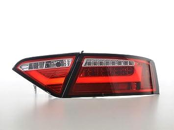 FK Automotive LED R/ückleuchten rot//klar