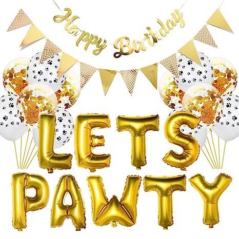 DreamColor Pancarta para Fiesta de cumpleaños con diseño de ...