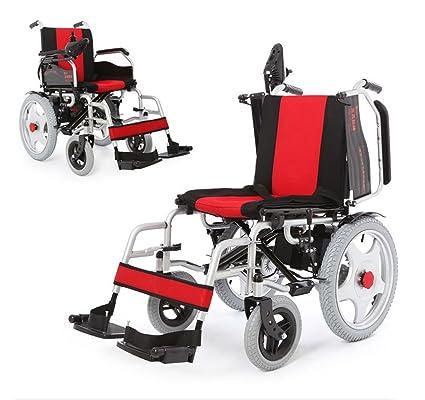 T-silla de ruedas Silla de ruedas eléctrica, discapacitado, scooter antiguo, plegable