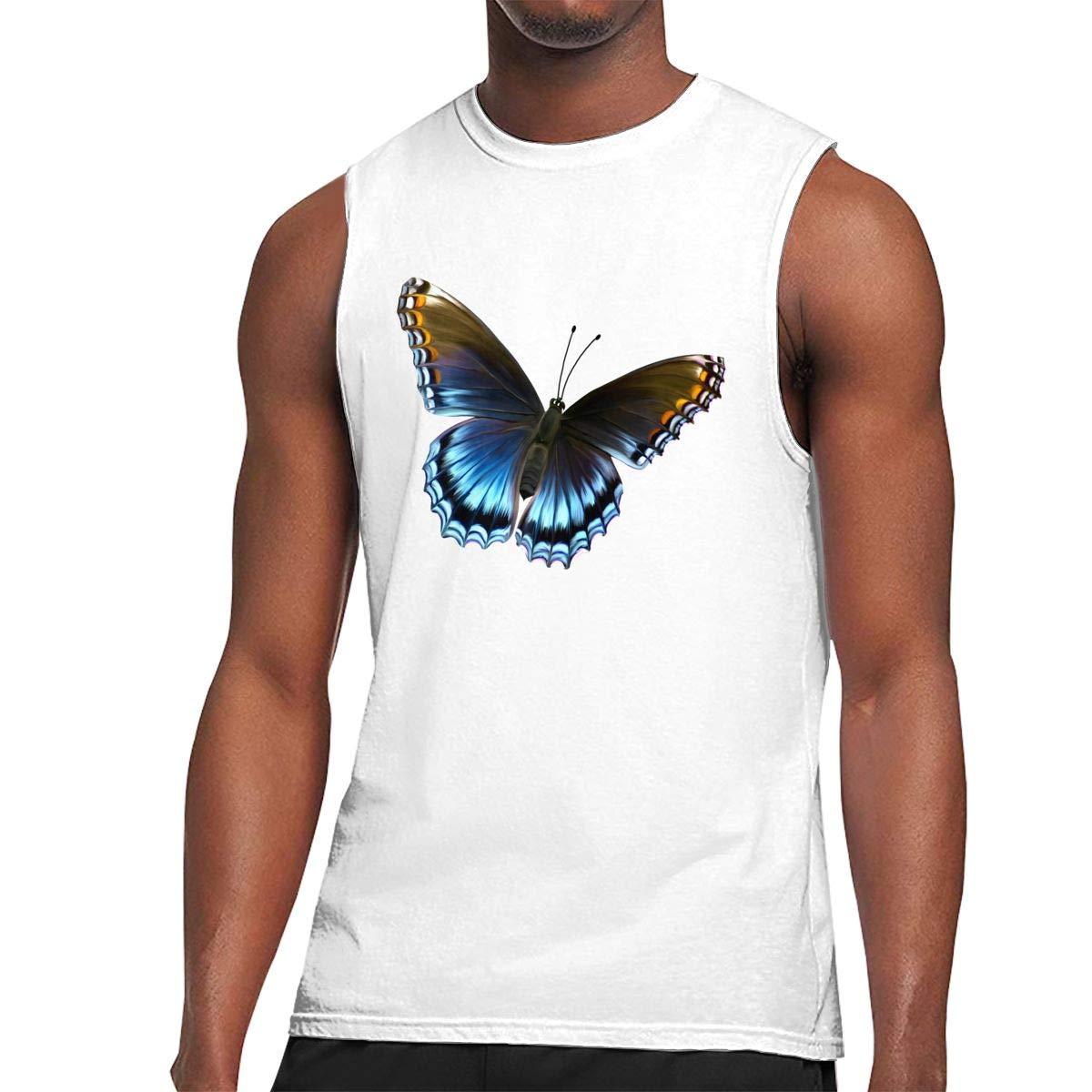 Muscle Tank Top Softball Butterfly Gym Training Tech Running Activewear 1825 Shirts