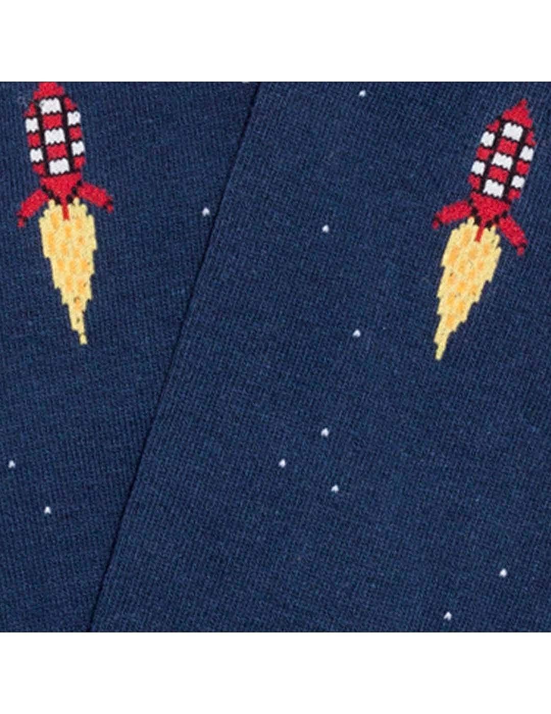 JIMMY LION Calcet/ín Space Rocket Azul