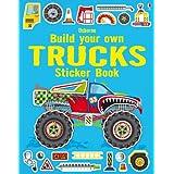 Build Your Own Trucks Sticker Book