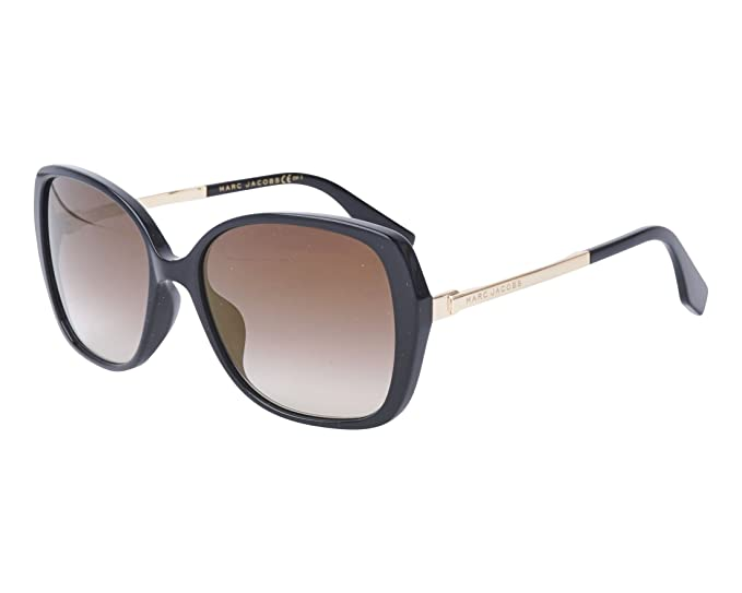 a10f49e420fd Image Unavailable. Image not available for. Colour: Marc Jacobs MARC 304/S  BLACK/BROWN SHADED women Sunglasses