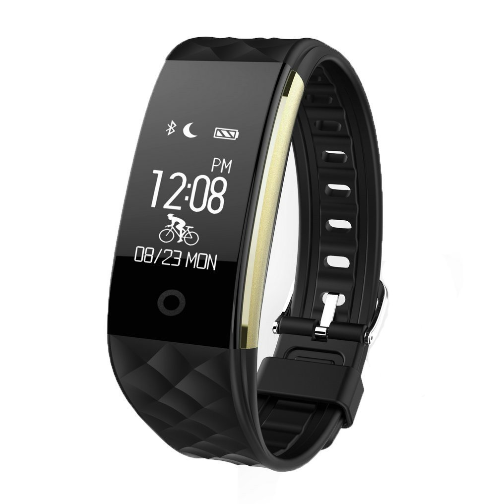 Sports Smart Watch,Smart Bracelet,Fitness Tracker Watch for Women Men and Kids - Black