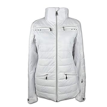Etirel Damen Jacke Nessa - WHITE, Größe 42  Amazon.de  Sport   Freizeit 346d8cd058