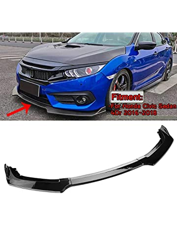 EAX Brand Compatible with Subaru Impreza WRX /& STI 11 12 13 14 Replacement for V-Limited Style JDM P.P Front Bumper Lip Spoiler 2011 2012 2013 2014 Black PP Under Chin Spoiler Add On