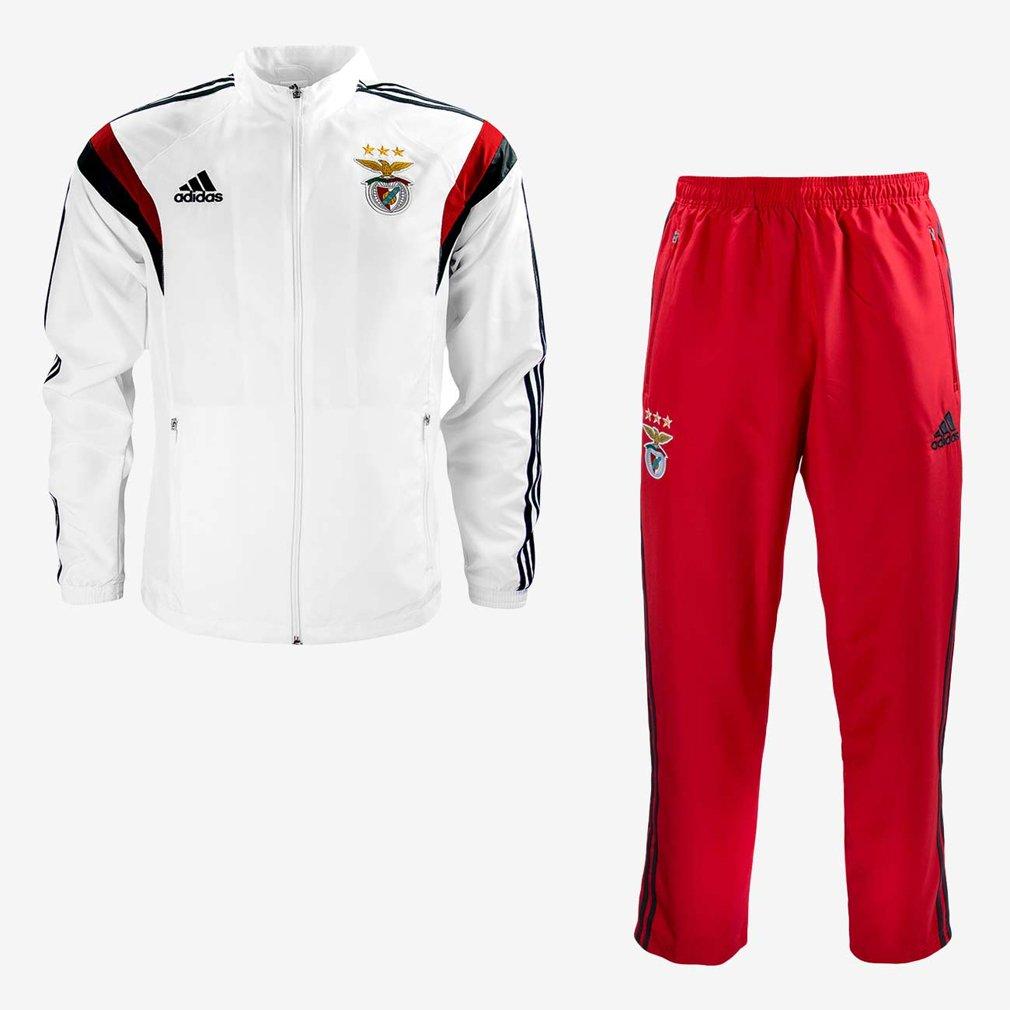 Adidas SLB Pre Suit Sport Sport Lisboa e Benfica 2015-2016 Tuta da Uomo