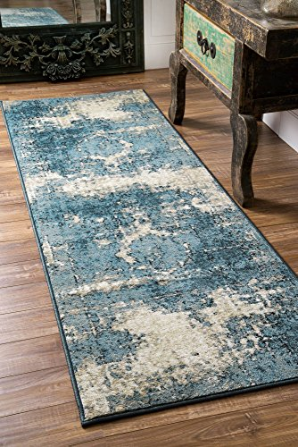 nuLOOM OWTC01A Transitional Lindsy Runner Rug, 2' 8