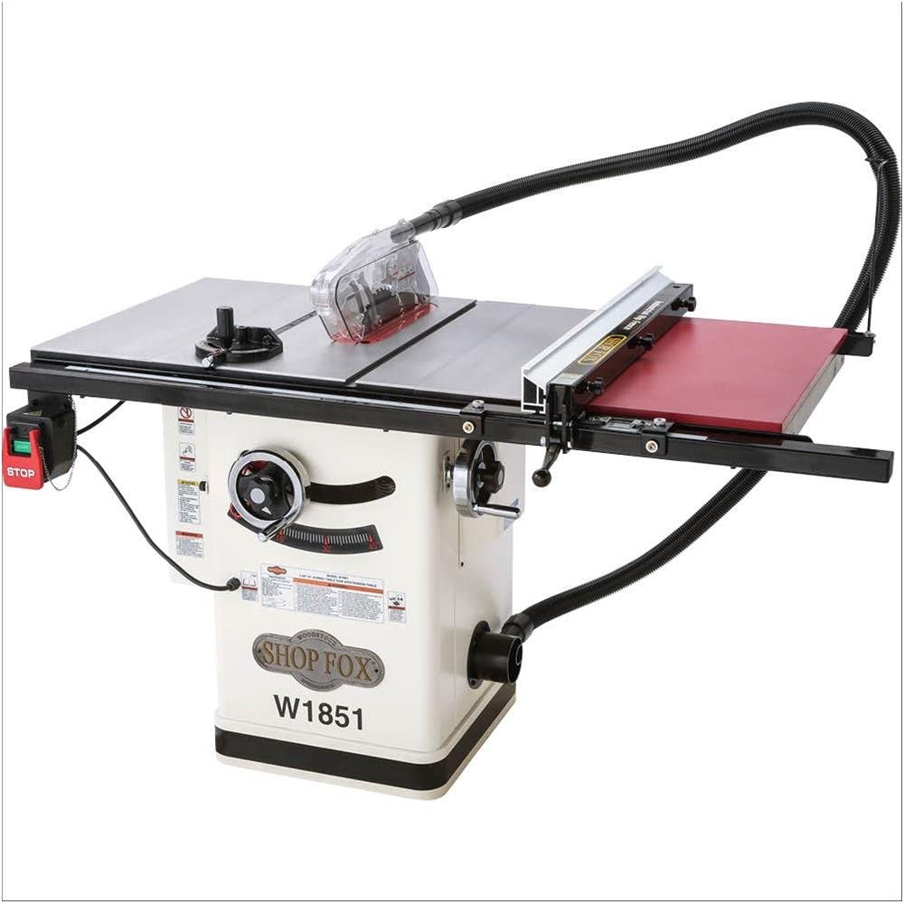 Shop Fox W1851 Table Saws product image 2