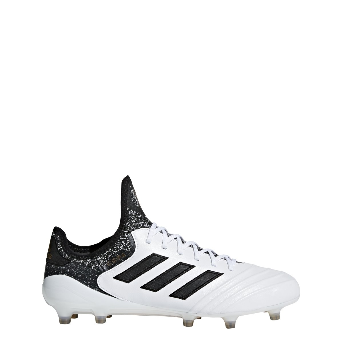 buy online 507dc 9dbeb Amazon.com  adidas Copa 18.1 Mens Firm Ground Soccer Cleats (9.5 D(M) US)  WhiteBlack  Soccer
