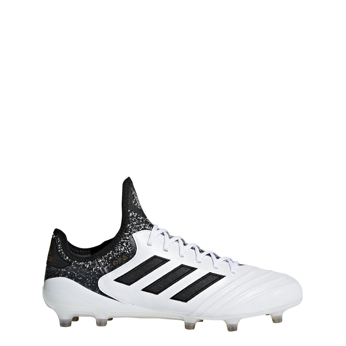 adidas Copa 18.1 FG Cleat Men's Soccer 8.5 White Core Black Tactile Gold Metallic
