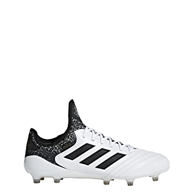 adidas Copa 18.1 Men's Firm Ground Soccer Cleats (9.5 D(M) US) White/Black