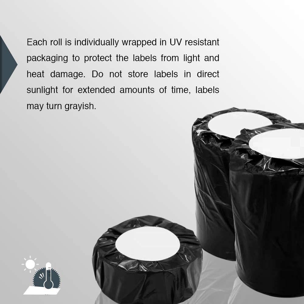 57mm x 32mm 6 Rolls DYMO 30334 Compatible 2-1//4 x 1-1//4 Medium Multipurpose Labels,BPA Free