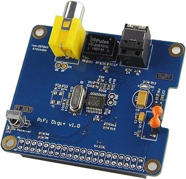 HIFI PIFI Digital Sound Card SPDIF I2S Optical Fiber Module for Raspberry pi