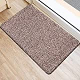 BEAU JARDIN Indoor Super Absorbs Mud Doormat 36'x24' Latex Backing Non Slip Door Mat for Front Door Inside Floor Dirt Trapper Mats Cotton Entrance Rug Shoes Scraper Machine Washable Rug Carpet
