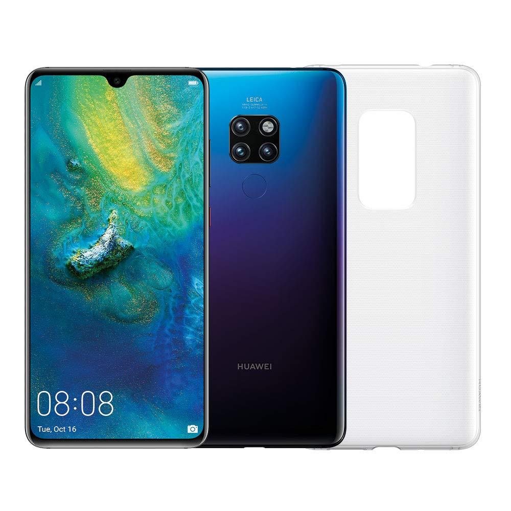 """Huawei Mate 20 (Twilight) più Cover Originale, Telefono con 128 GB, Display 6.53"""" Full HD+, Processore Octa Core dinamico con Intelligenza Artificiale [Versione Italiana]"""