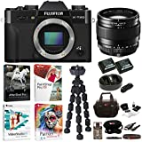 Fujifilm X-T20 Camera Body (Black) with XF 23mm f/1.4 Lens and Software Bundle