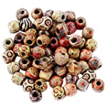 Pack of 100 12mm Mixed Round Wooden B...