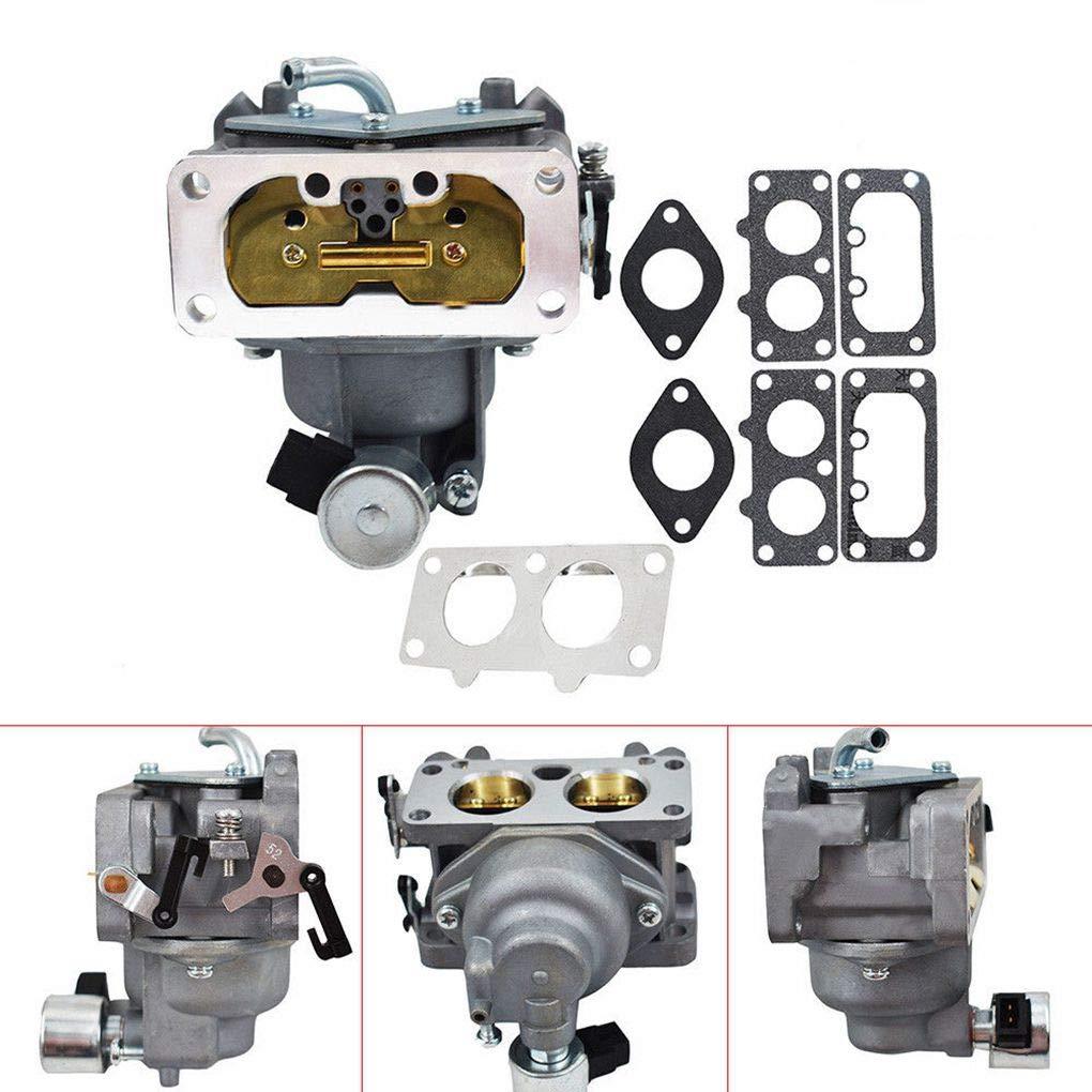Topker Engine Carburetor Gasket Kit Replacement for Kawasaki FH641V FH661V 15004-0763 15004-7024 15004-1010 by Topker (Image #5)