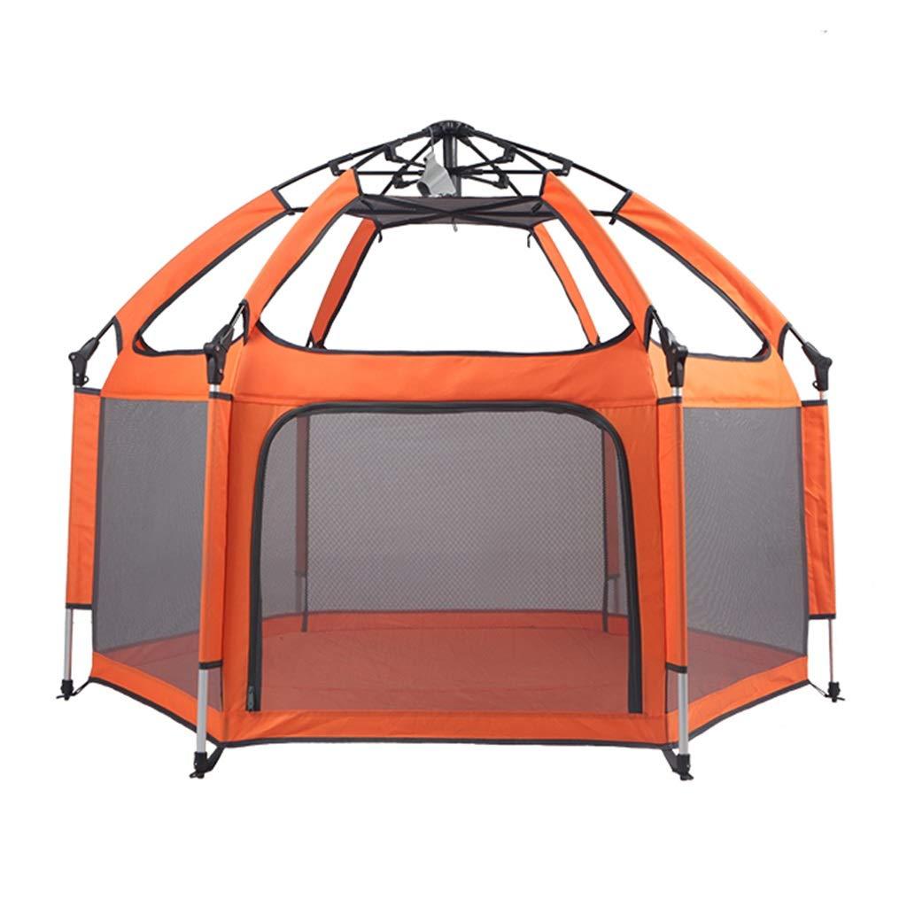 偉大な ベビーサークルプレイヤード 保護柵遊び場子供の遊び場 子供用クロールマット幼児保護柵 屋内遊び場安全柵 子供用ギフト ベビーサークルプレイヤード B07MNWZ7S3 (Color : 150*150*100cm Orange, Size Size : 150*150*100cm) 150*150*100cm Orange B07MNWZ7S3, ガーデニング雑貨TOOLBOX:efd3f522 --- a0267596.xsph.ru