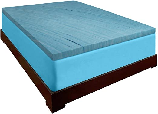 """Pick Size Free Shipping! NEW 2/"""" 4lb  Memory foam topper Made in the USA"""