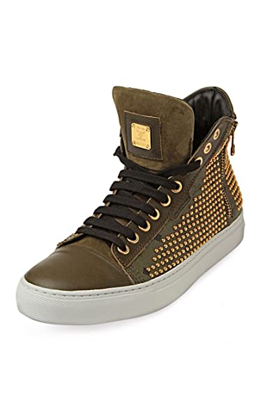 new style 4ea3f 7c9f3 Michalsky MCM Sneaker URBAN NOMAD 3 HIGH X MCM ARMOUR, Color  Olive, Size