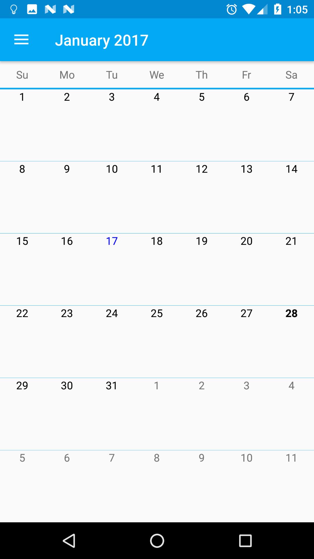 The 8 best calendars under 100