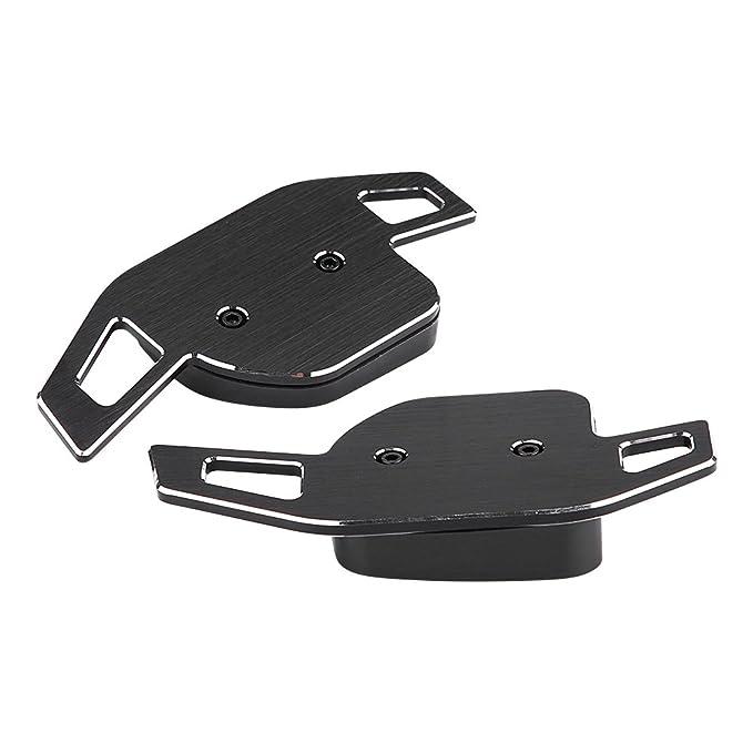 1 par de hoja de paleta de la palanca de cambio del volante de aluminio para A1 A3 A4 A6 A7 A8 A8 Q5 Q7: Amazon.es: Coche y moto